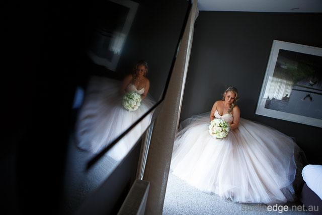 The lake house daylesford wedding dress